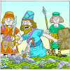 Saul Falls on His Sword | 1 Samuel Clip Art