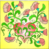 Flowering Heart | 2 Thessalonians Clip Art