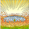 Wall of Fire Around Zion | Zechariah Clip Art