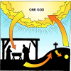 God and Mediator | 1 Timothy Clip Art