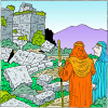 Let him go up to Jerusalem which is in Judah and rebuild the house of the LORD | Ezra Clip Art