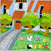 For Her House Inclines Unto Death And Her Paths Unto The Dead | Proverbs Clip Art