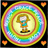Grace Mercy and Peace | 2 John Clip Art