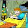 Joab Fled to the Tabernacle of the LORD and Cling to a Horn of the Alter | 1 Kings Clip Art