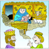 Behold a virgin shall conceive | Isaiah Clip Art