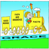 Faith and Works Train | James Clip Art