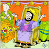The King Shall Rejoice | Psalm Clip Art