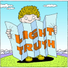 Your light and thy Truth | Psalm Clip Art