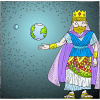 King of All The Earth | Psalms Clip Art