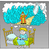 Moses Parting Waters | Exodus Clip Art