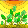 Growing Plants | Psalms Clip Art