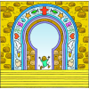 Enter Gates With Thanksgiving | Psalms Clip Art