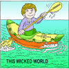Floating Atop This Wicked World | Psalm Clip Art