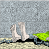 Feet in Fetters | Psalm Clip Art