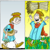 Bringing In the Sheaves | Psalm Clip Art