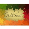 Welcome | PowerPoint Themes - Rainbow Leaves