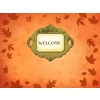 Welcome | PowerPoint Themes Blown Leaves