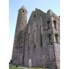 This is a photograph of Rock of Cashel, a castle in Ireland. It makes an excellent church bulletin!