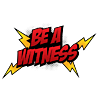 BE A WITNESS - Comic POW bubble